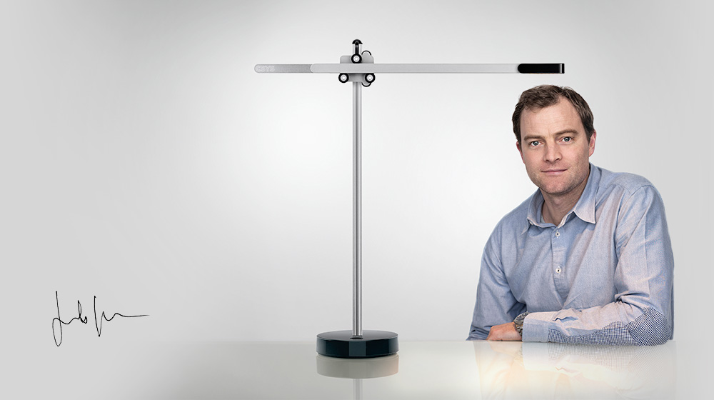 image of Jake Dyson and CSYS Desk Light
